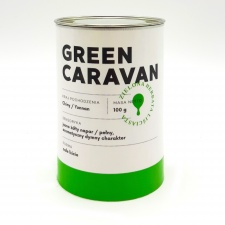 Blue Drop Green Caravan