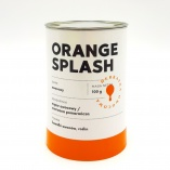 Blue Drop Orange Splash