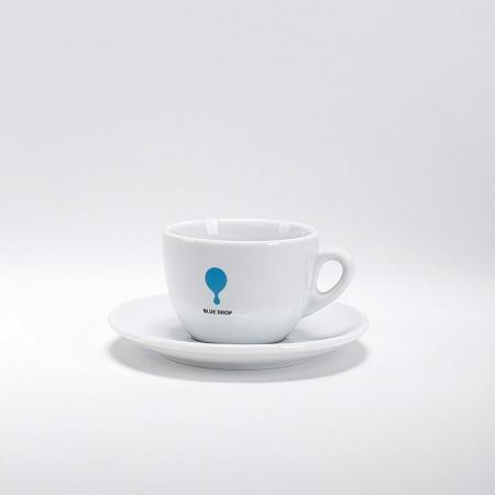 Filiżanka Blue Drop 150ml + Podstawka